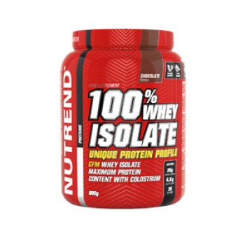 Изолят 100% WHEY ISOLATE, NUTREND, шоколад,1800 гр