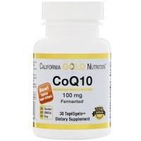 Коэнзим Q10 100 мг, California Gold Nutrition, 30 капсул