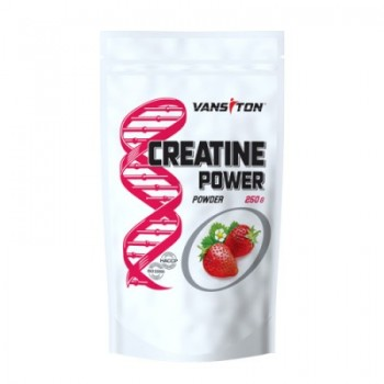 Креатин CREATINE POWER, VANSITON, клубника, 250 гр