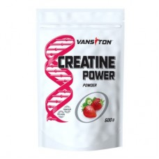 Креатин CREATINE POWER, VANSITON, клубника, 500 гр