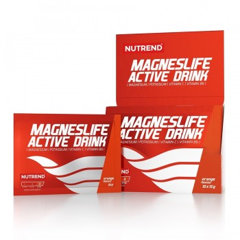 Антиспазм MAGNESLIFE ACTIVE DRINK, NUTREND, САШЕ, 10х15 гр