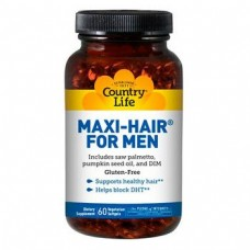 Витамины Country Life MAXI-HAIR for Men,  60 caps (Макси-Хэа для мужчин)
