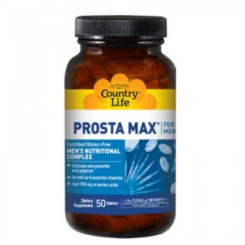 Просто Макс, PROSTA MAX for Men, Country Life, 50 таблеток