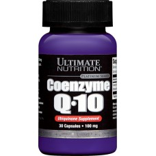 Коэнзим Q10 100мг, Ultimate Nutrition, 30 капсул