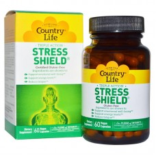 Антистресс Country Life Stress Shield, 60 caps (Антистресс)