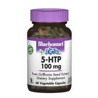 Триптофан 5-HTP, Bluebonnet Nutrition, 100 мг, 60 капсул