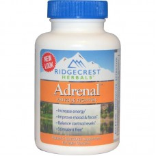 Комплекс для Ликвидации Усталости, Adrenal Fatigue Fighter, RidgeCrest Herbals, 60 гелевых капсул