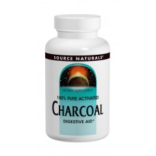 Уголь 260мг, Source Naturals, 200 капсул