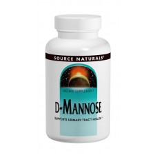 D-Mannose 500 mg, Source Naturals, (D-Манноза 500 мг, 60 капсул)