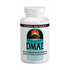 DMAE (диметиламиноэтанол) 351 мг, Source Naturals, 100 капсул