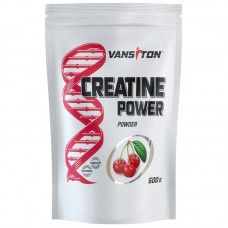 Креатин CREATINE POWER, VANSITON, вишня, 500 гр