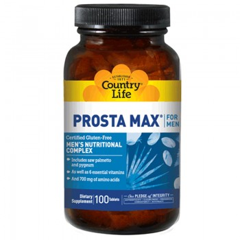 Просто Макс, PROSTA MAX for Men, Country Life, 100 таблеток